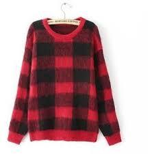 plaid sweater plaid sweater jvl polyvore