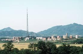 Flag Pole Hill Peace Village North Korea Wikipedia