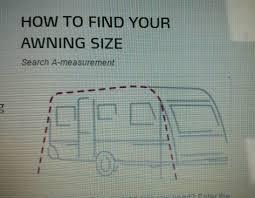 Caravan Awning Sizes Chart Atlantic Ventura Awning Size 1050 In Peacehaven East Sussex