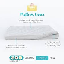 Mattress Cover For Crib Bouncy Baby Pack N Play Portable Crib Mattress Cover