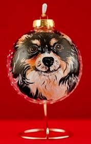 custom pet portraits on goose eggs by sherry kendall of