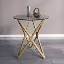 End Table Ls Crossed Side Table