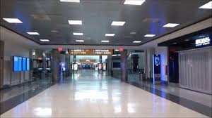 united airlines lax terminal 7 at night youtube