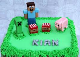 minecraft birthday cake personalised cakes for birthdays