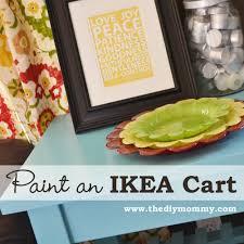 Ikea Cart by Paint An Ikea Cart The Diy Mommy