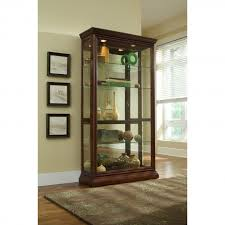 tall cabinet with glass doors curio cabinet curio cabinets calgary antique cabinet with glass