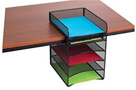 Safco Mesh Desk Organizer Safco Products 3240bl Onyx Mesh Horizontal Hanging
