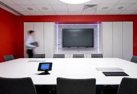 Modern Conference Room Design Modern Conference Room Design Custom Media Wall Storage Regalmark