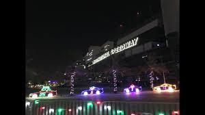 atlanta motor speedway lights 2017 magic of lights at daytona international speedway 2017 youtube