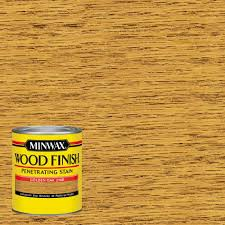 minwax 1 qt wood finish golden oak oil based interior stain 70001