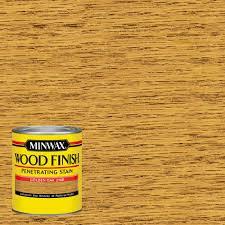 minwax 1 qt wood finish golden oak oil based interior stain 70001