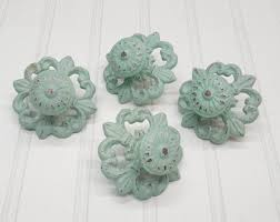 Shabby Chic Drawer Pulls by Cabinet Knobs 24 Colors Dresser Knobs Drawer