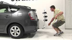 toyota prius bike rack review of the kuat alpha hitch bike rack on a 2007 toyota prius