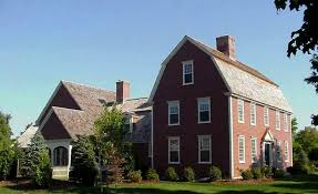 gambrel style the gambrel colonial exterior trim and siding the