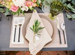 wedding plate settings 15 stylish wedding table setting ideas for every brit co