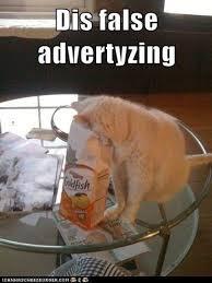 Advertising Meme - dis is false advertising meme guy