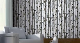 koziel birch tree trompe l u0027oeil wallpaper by couture déco