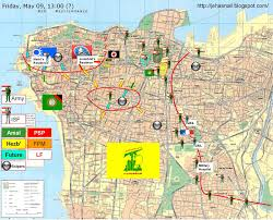 Beirut On Map Beirut Falling Into Hizbullah Hands Lebanon Hyscience