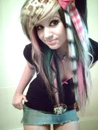 emo hairstyles long emo hairstyles for girls beautiful long hairstyle