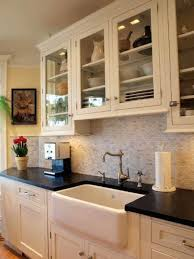 alternatives to glass front cabinets options for a kitchen design with no window over the sink sinks