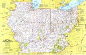 Ohio Kentucky Map by Illinois Indiana Ohio Kentucky Map Has A 4961 3196 Version