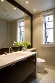 bathroom mirror ideas on wall wonderful frameless wall mirror large decorating ideas images in