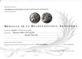 chambre des metiers 41 concours médaille d argent pour la reconnaissance artisanale