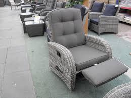 rocking reclining rattan chair single conservatory pinterest