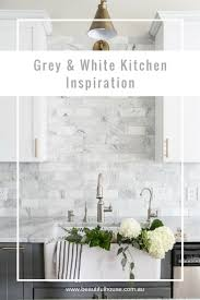 Grey White Kitchen Grey U0026 White Kitchen Inspiration Beautiful House