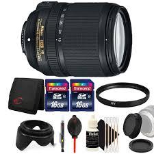 nikon af s dx nikkor 18 140mm lens with accessory kit for nikon