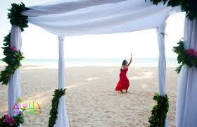wedding arch gazebo hawaii weddings custom designed alters on oahu