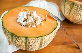How Much Fiber In Cottage Cheese by Cantaloupe Bowl Recipe With Cottage Cheese