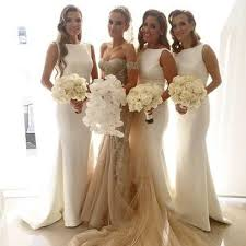 sexey wedding dresses 2017 charming white simple mermaid women wedding