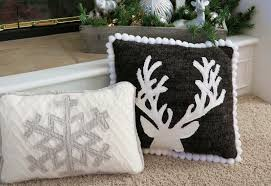 Upcycled Pillows - in his grip upcycled sweater pillows