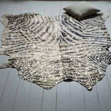 zebra print desk accessories zebra stripe metallic cow skin cowhide u0026 other hides graham