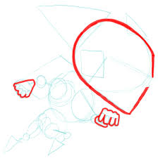 how to draw gravity guy from miniclip com step by step drawing