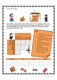 halloween puzzle games halloween logic puzzle worksheet free esl printable worksheets
