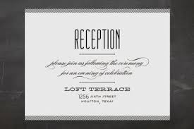 Reception Only Invitations Wedding Invitation Wording Basics For The Freshly Engaged