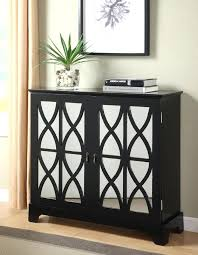 console cabinet with doors foyer cabinet console cabinet with mirrored glass doors in black