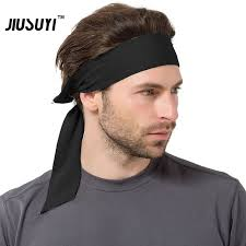 hair bands for men basketball sweatband sport headband hip hop hair