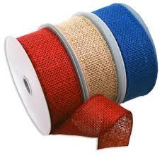 jute ribbon buy morex ribbon patriotic burlap wired jute ribbon pack