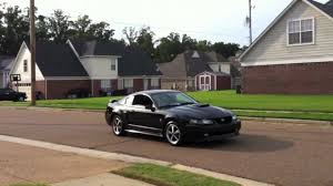2004 Black Ford Mustang 2003 Black Mustang Mach 1 Bassani Stainless O R X Pipe Borla