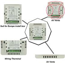 building automation system touch screen fan coil unit control