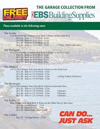garage packages archives ebs building supplies