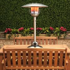 Patio Heater Gas Bottle by Stainless Steel Table Top Gas Patio Heater With Adjustable Heat