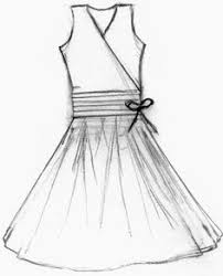 custom wedding dress sketch by laura pruett of laura arts and