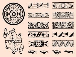 tribal decorations free vectors ui