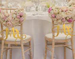 wedding chair wedding chair signs etsy