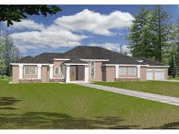 modern florida house plans stucco ranch style homes corinth hill florida home plan home