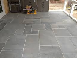 Patio Tile Flooring by Rectangular Slate Floor Tiles For Outdoor Porch Deck Tiling